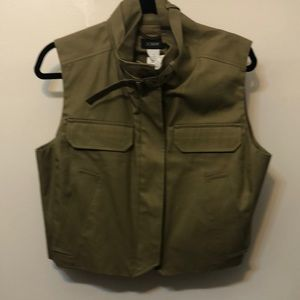 NWT J. Crew Collection military vest